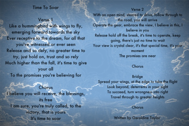 its time to soar