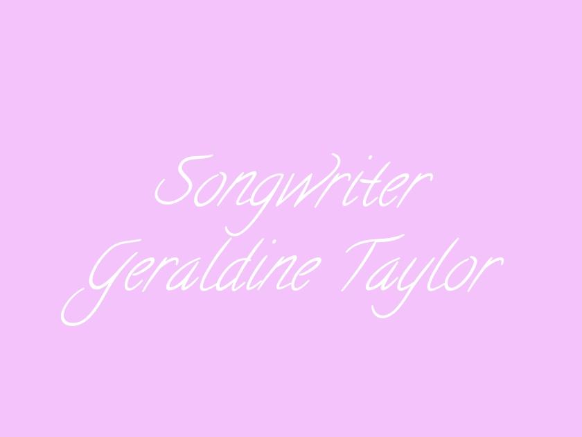 Songwriter Geraldine Taylor logo